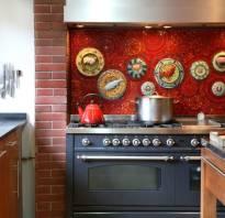 Красивый фартук для кухни фото