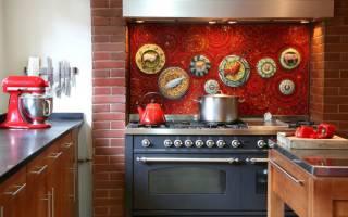 Фартук на кухне из стекла фото