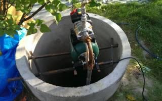 Насос в колодец для водоснабжения дома