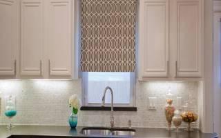Красивые занавески на кухню с фото