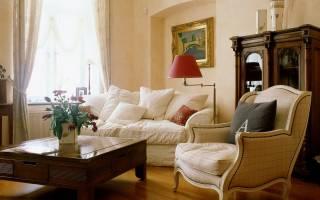 Дизайн однокомнатной квартиры в классическом стиле фото