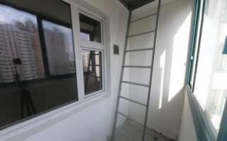 Пожарная лестница на балконе что делать