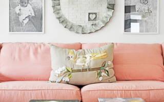 Персиковый цвет в интерьере
