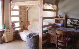 Кровать чердак для взрослых фото