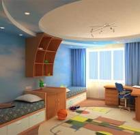 Расстановка мебели в детской комнате