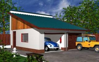 Как сделать крышу гаража своими руками