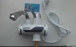 Как установить проточный водонагреватель электрический