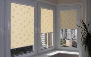 Солнцезащитные шторы на окна