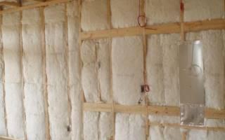 Утеплитель для стен внутри дома на даче