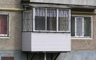 Как сделать балкон на первом этаже