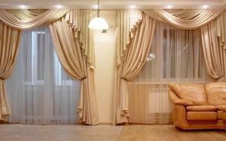 Стили штор в интерьере фото описание