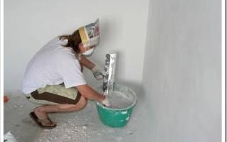 Как выровнять стены шпаклевкой своими руками