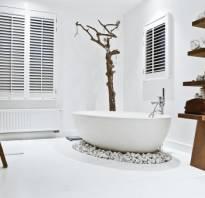Ванна в скандинавском стиле фото