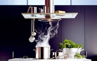 Как работает вытяжка на кухне?