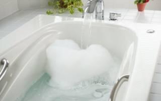 Сколько литров воды в ванной стандартной