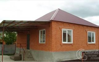 Фундамент для дома из кирпича своими руками