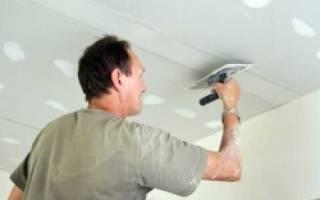 Как подготовить потолок к покраске водоэмульсионной краской?