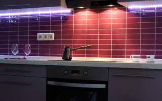 Светильники для кухонной подсветки под навесные шкафы