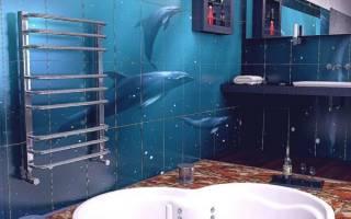 Как правильно установить полотенцесушитель в ванной?