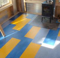 Чем покрасить фанеру на полу?