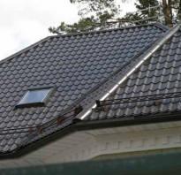 Как стелить металлочерепицу на крышу?
