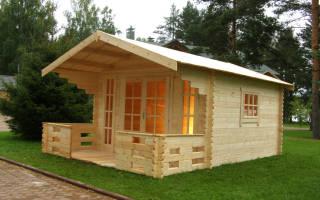 Планировка дачного дома 6х6 с печкой