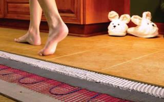 Теплый пол под керамогранит какой лучше