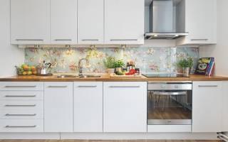 Фартук для белой кухни фото