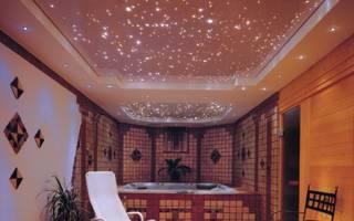 Потолок с подсветкой по периметру своими руками
