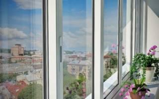 Раздвижные рамы на балкон