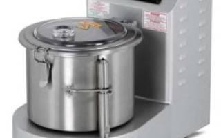 Куттер – универсальное решение для нежных блюд