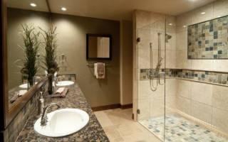 Дизайн душевой с туалетом без ванны