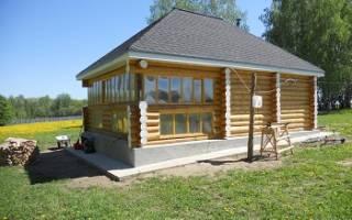Вальмовая крыша с разными углами скатов