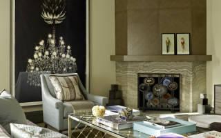 Имитация камина в квартире фото