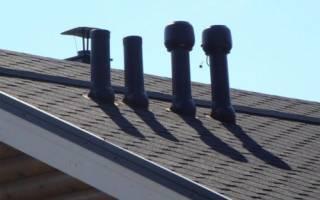 Вентиляционные трубы пластиковые для вытяжки на крышу