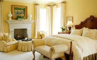 Красивые спальни в классическом стиле фото