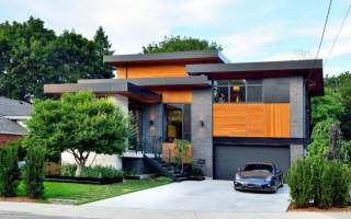 Красивая кирпичная кладка домов фото