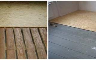 Как стелить ОСБ на деревянный пол?