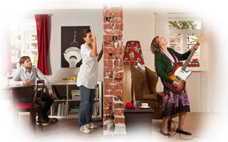 Звукоизоляция комнаты в квартире