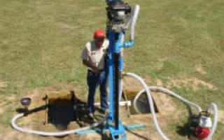 Оборудование скважины на даче своими руками