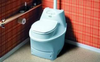 Торфяной туалет для дачи какой лучше отзывы