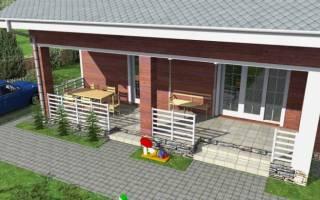 Дома с верандой проекты фото