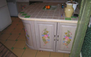 Реставрация кухонной мебели своими руками фото