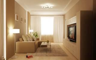 Мебель для маленькой гостиной в современном стиле