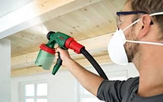 Компрессор для покраски стен и потолков