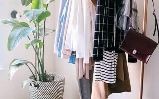 Стойка для одежды напольная своими руками