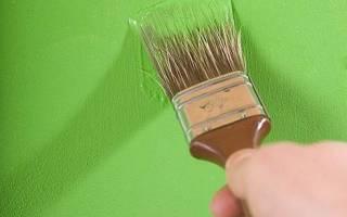 Как покрасить виниловые обои на бумажной основе?