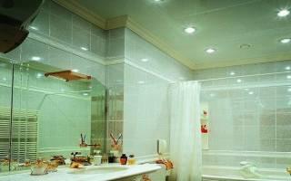 Потолок в ванной комнате какой выбрать фото