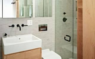 Дизайн для маленькой ванной комнаты фото