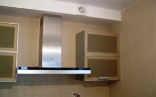 Вытяжки на кухню с отводом в вентиляцию